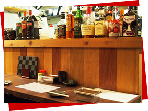 今流行の串カツバル!ハイスタが流れる店内で美味しい料理をお楽しみください。